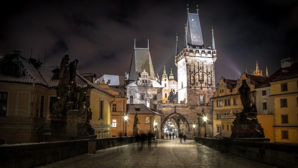 Prag - Karlsbr├╝cke